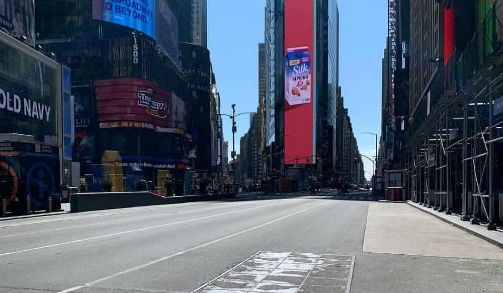 Photos: These Rush Hour Spots In NYC Are Now Eerily Quiet