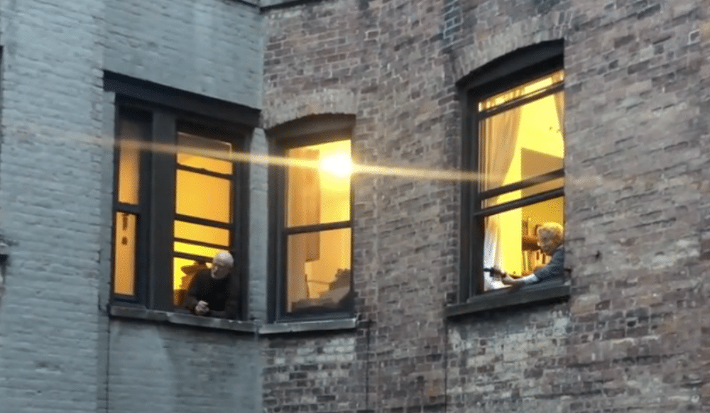 These Morningside Heights Neighbors Have Nightly Sing-Alongs Out Their Courtyard Windows