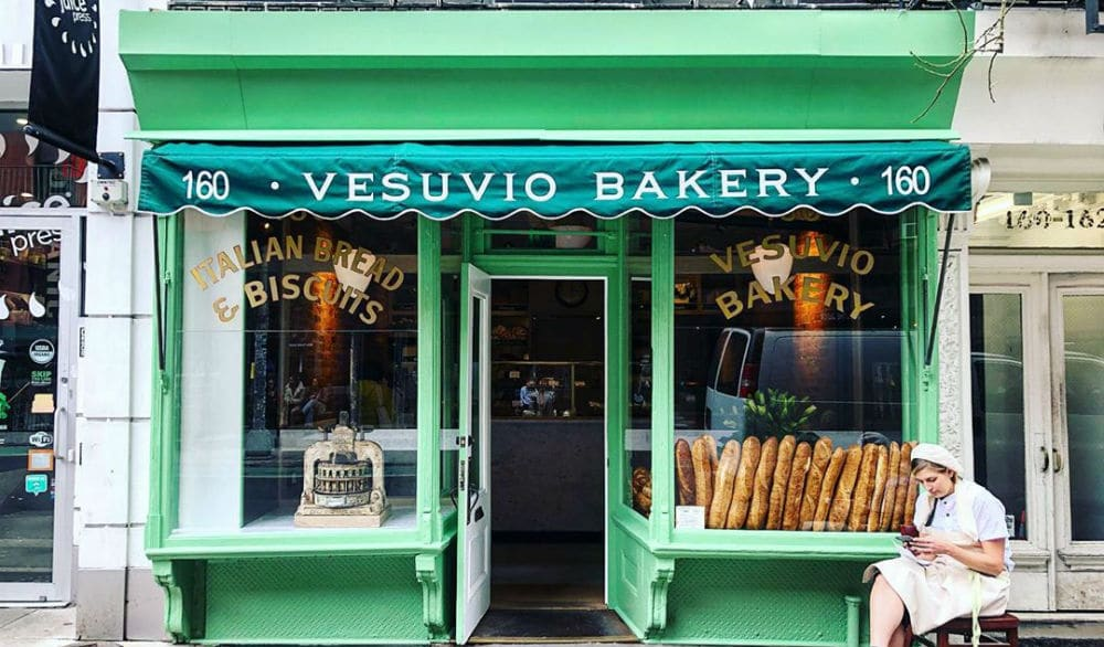Famous 1920s Vesuvio Bakery In Soho Reopens After 11-Year Closure