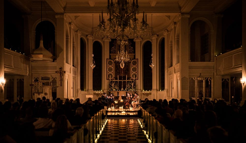 Corpus Christi Church Sparkles By Candlelight In New Breathtaking Classical Concert Series