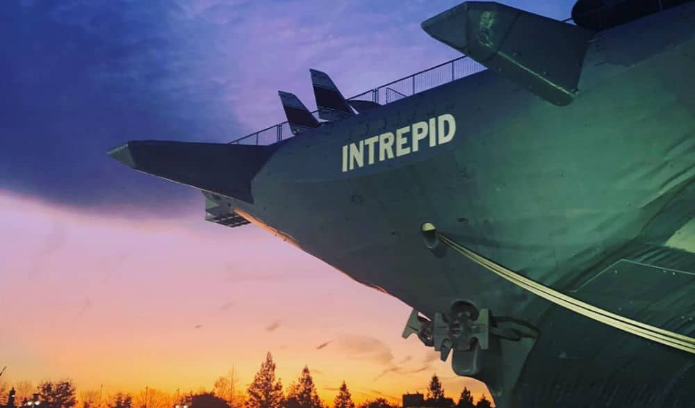 The Intrepid Is Hosting Free Astronomy Nights On Top Of Its Enormous Aircraft Carrier