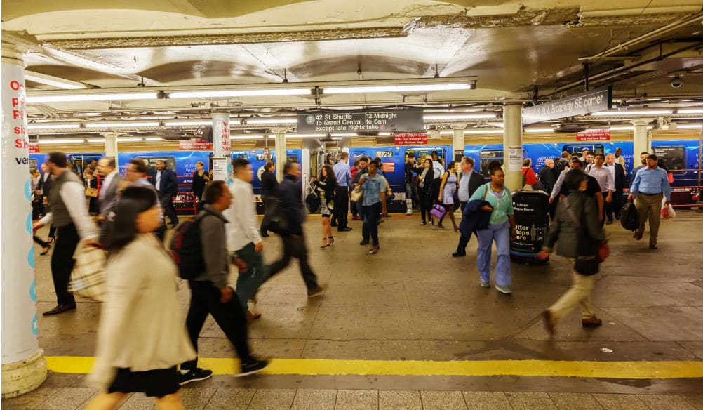 NYC's Future May Involve Reserving Seats On MTA Buses & Subways