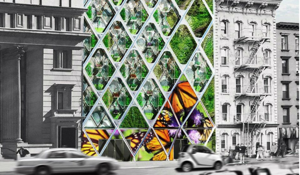 Nolita Streetfront May Soon Transform With A Magical Butterfly Sanctuary Building