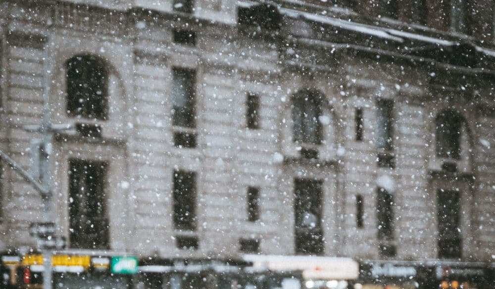 It's April 23…And Yes, It Snowed In NYC This Morning