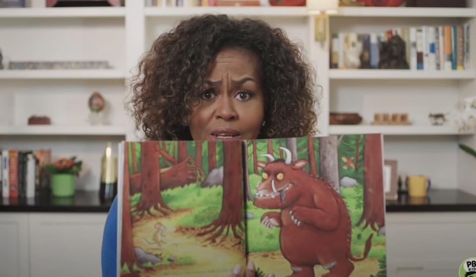 Michelle Obama Will Read Her Favorite Children's Books Live Every Monday