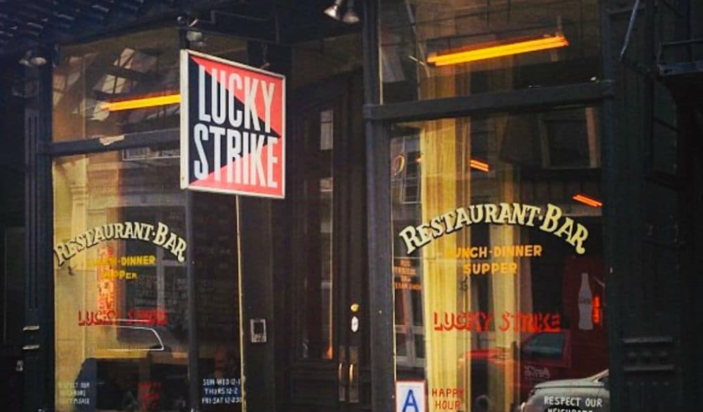 Beloved SoHo Bistro Lucky Strike Permanently Shutters Due To Stubborn Landlord