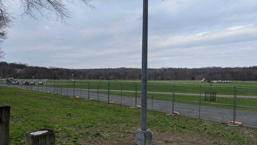 A 200-Bed Field Hospital Is Going Up In Van Cortlandt Park In The Bronx