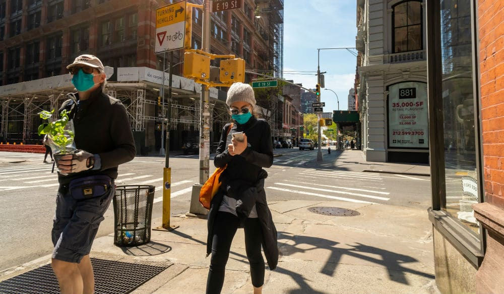 New York Businesses Can Now Deny Entry To Anyone Not Wearing A Face Mask Or Covering