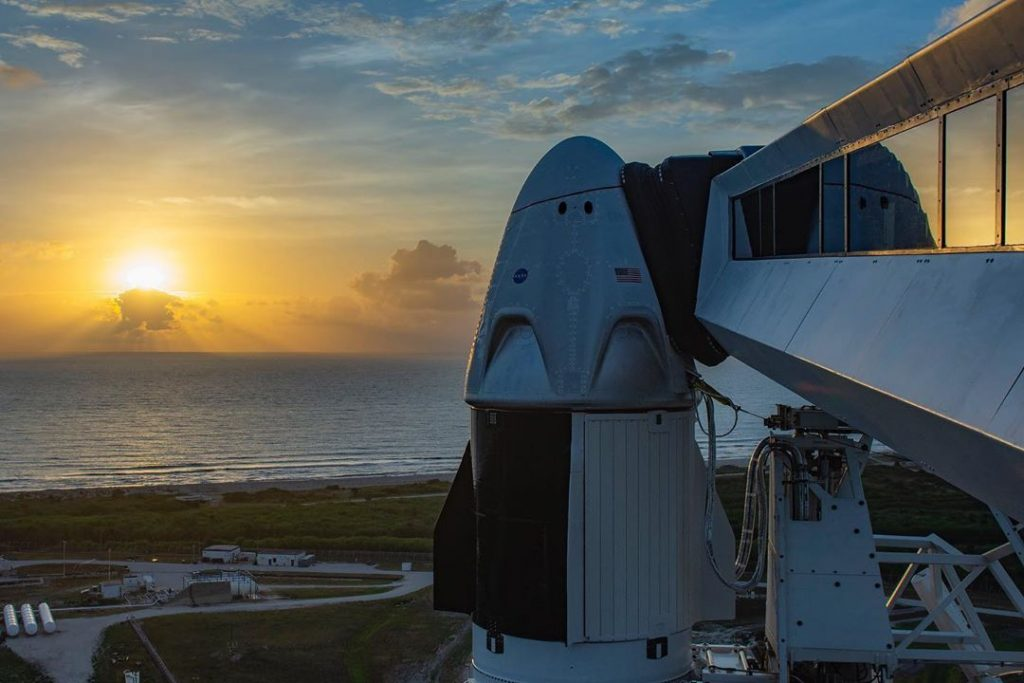 Don't Miss The Historic SpaceX Rocket Launch Carrying U.S. Astronauts This Afternoon