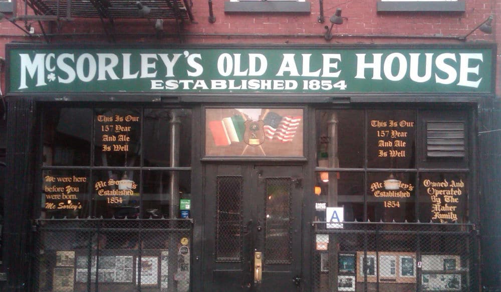 Iconic Irish Pub McSorley's Is Back Open, Serving Burgers & Beer To-Go