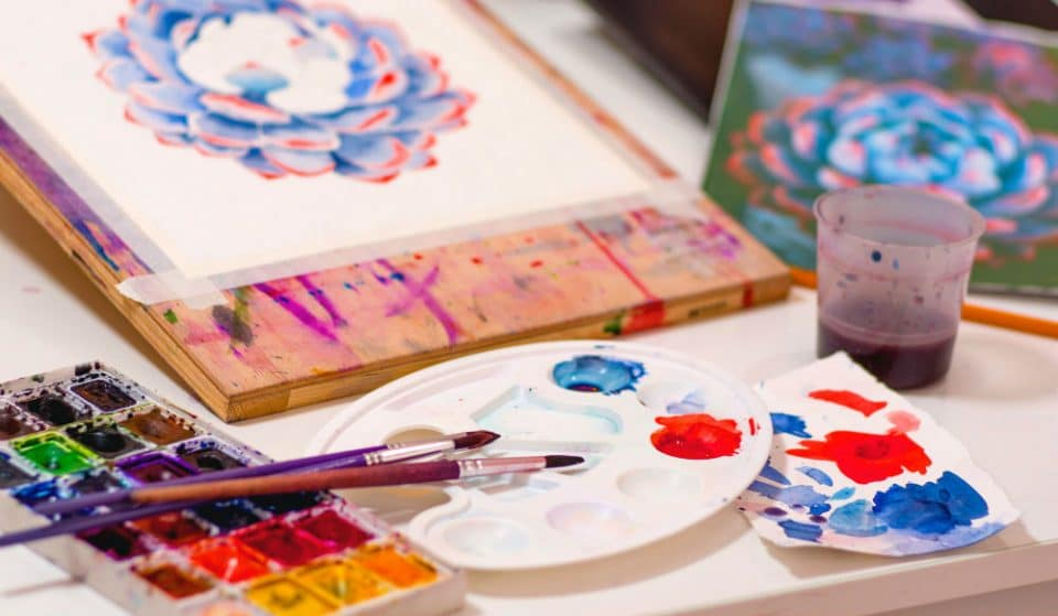 This Relaxing At-Home Painting Class Is The Perfect Alternative To Going Out