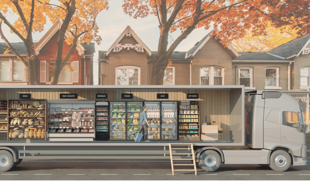 The First-Ever Mobile Grocery Store Is Here, & It May Solve All Our Shopping Problems