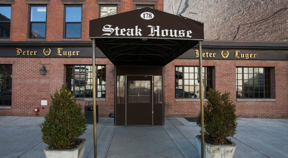 World-Renowned Steakhouse Peter Luger Is Now Offering Delivery In NYC