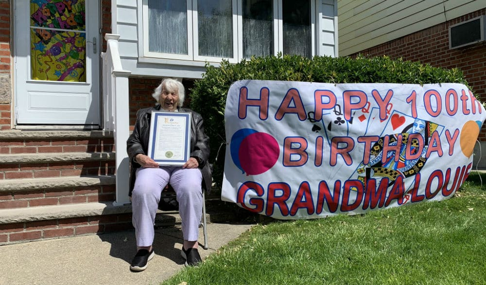 This Queens Grandma Turned 100 With An Adorable Quarantine-Approved Celebration