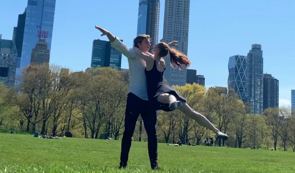 Watch This Stunning Video Of Two NYC Ballet Dancers Performing Throughout Central Park