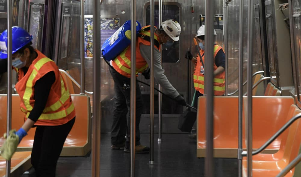 This Is Exactly How The MTA Is Cleaning The Subway Every Single Night
