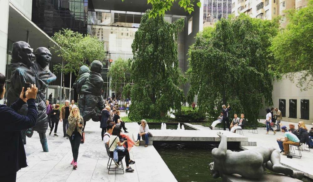 Take A Soothing Virtual Tour Through MoMA's Stunning Outdoor Sculpture Garden This Week