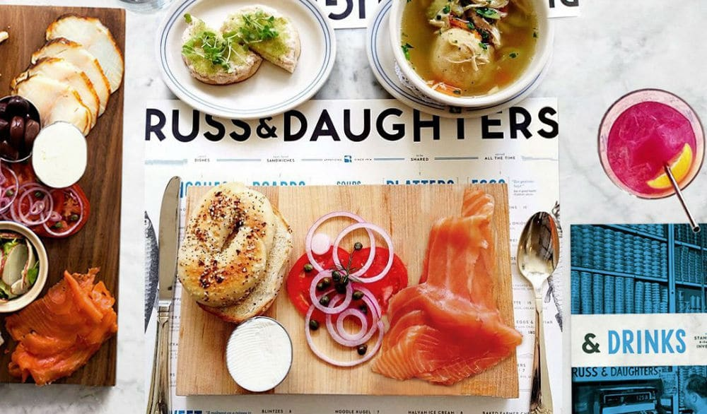 NYC Icon Russ & Daughters Is Delivering Meals To 'Healthcare Heroes' And Food Pantries