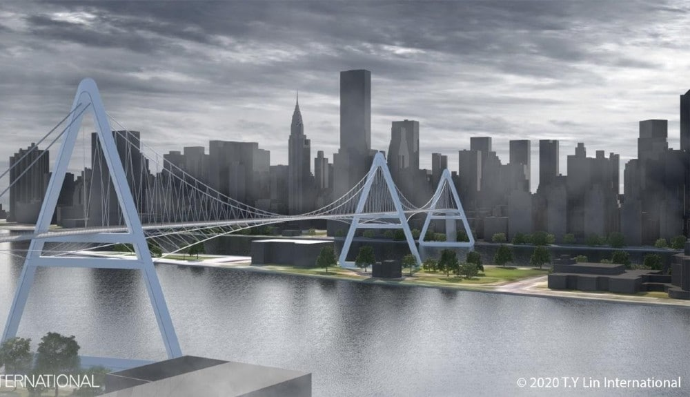 A Pedestrian Bridge Connecting Queens And Manhattan Might Be In NYC's Future