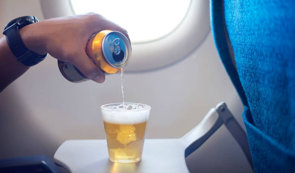 Multiple Airlines Will No Longer Serve Alcohol On Flights For COVID-19 Safety