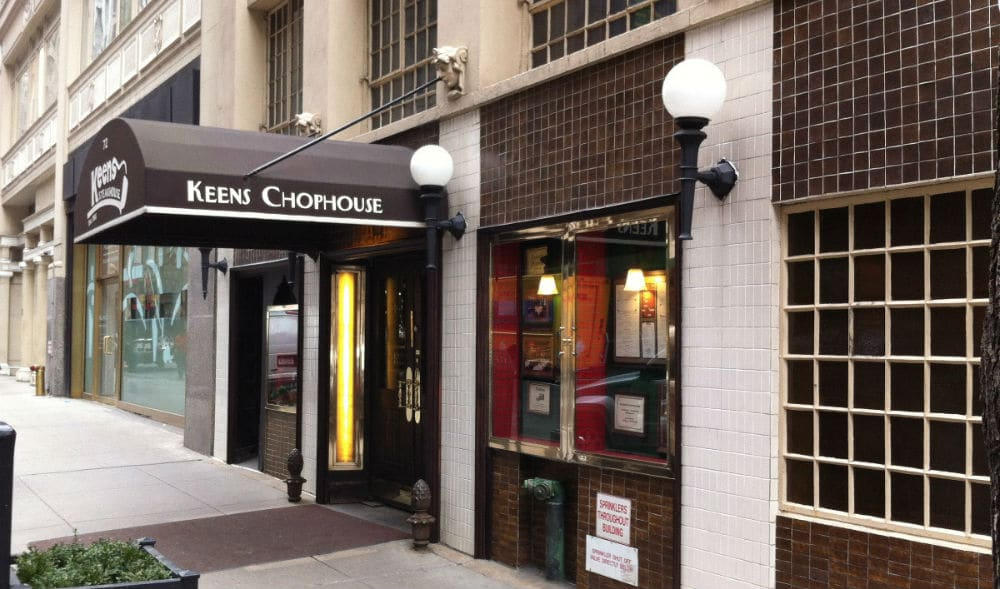 Historic Midtown Steakhouse Keens Has Reopened For Takeout And Delivery