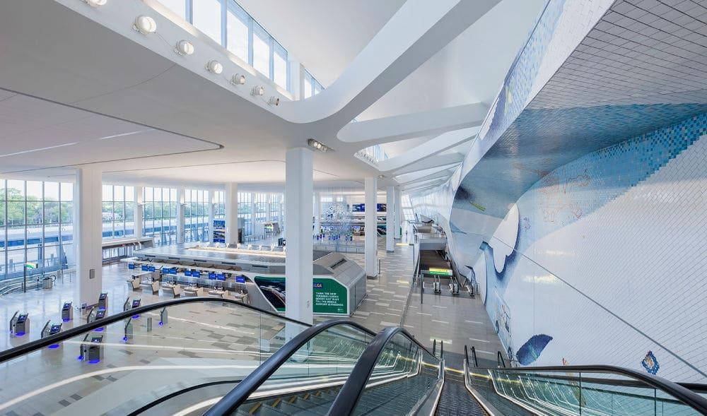See Inside LaGuardia Airport's Brand New Terminal B