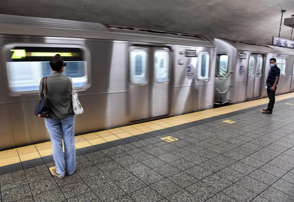 Photos: This Is What Riding The NYC Subway In The Age Of COVID-19 Will Look Like