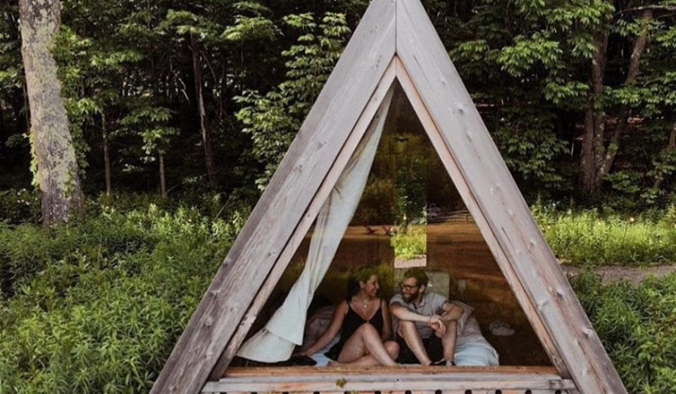 This Cozy Little Cabin Is Tucked Away In The Mountains Only Two Hours From NYC