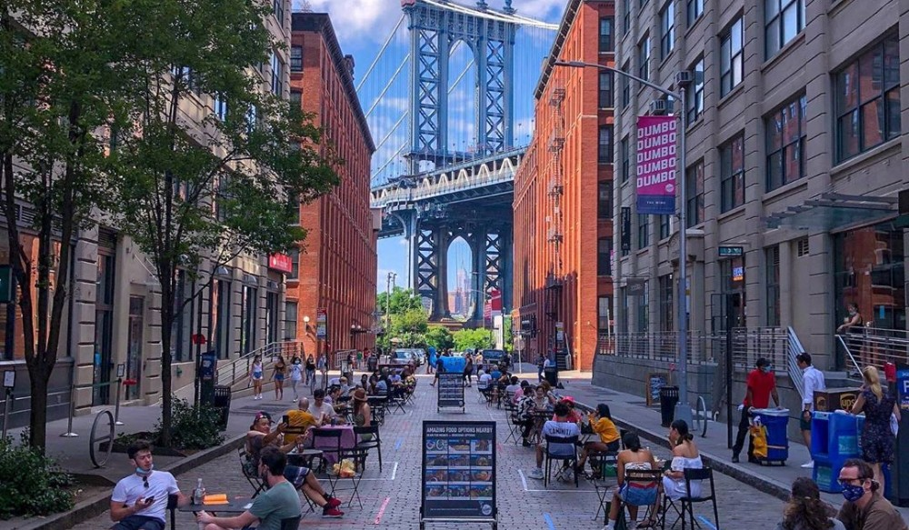 22 NYC Streets Have Turned Into Outdoor Dining Patios—Here's Exactly Where They Are