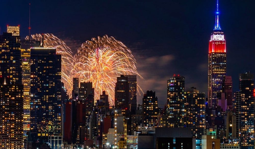 10 Stunning Moments From Macy's 'Surprise' Fireworks Displays This Week
