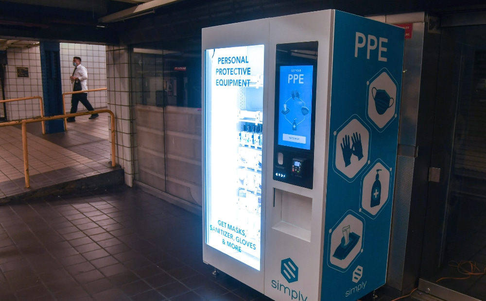 MTA Is Adding PPE Vending Machines To New York's Subway Stations