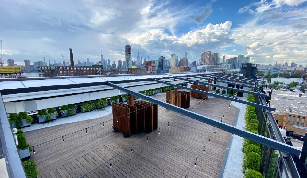 A Massive New Rooftop Cocktail Bar Just Opened In Brooklyn