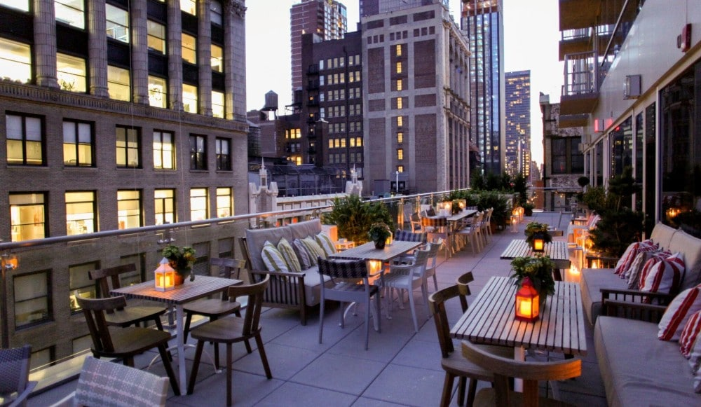 Travel Back To The Jazz Age At This Magical Concert Series On An NYC Rooftop