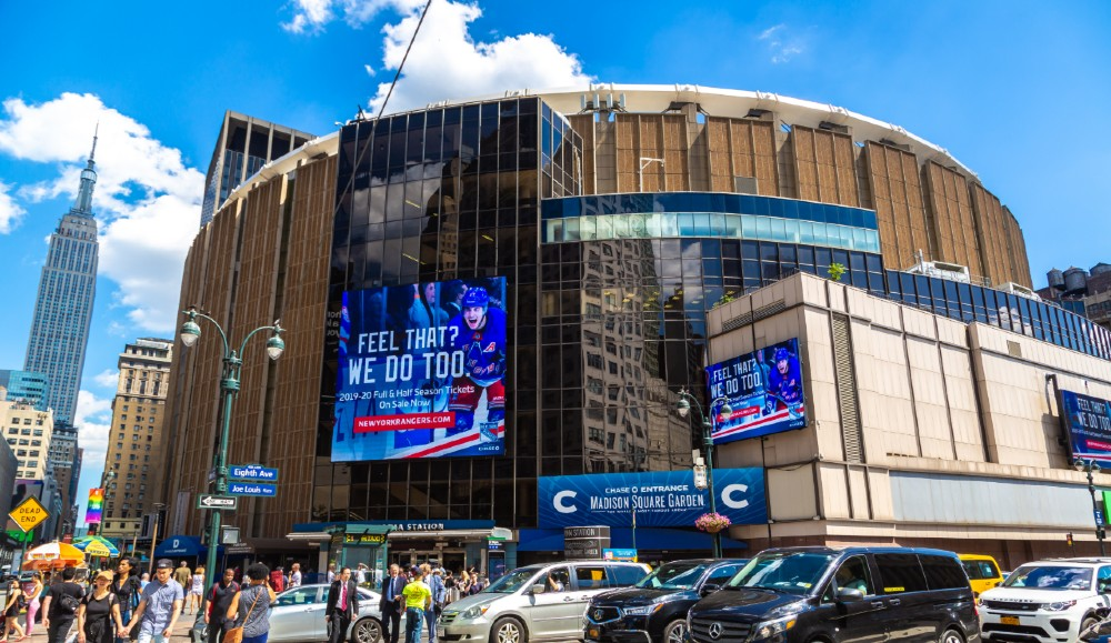 Madison Square Garden Will Be A Presidential Election Polling Site For The First Time Ever