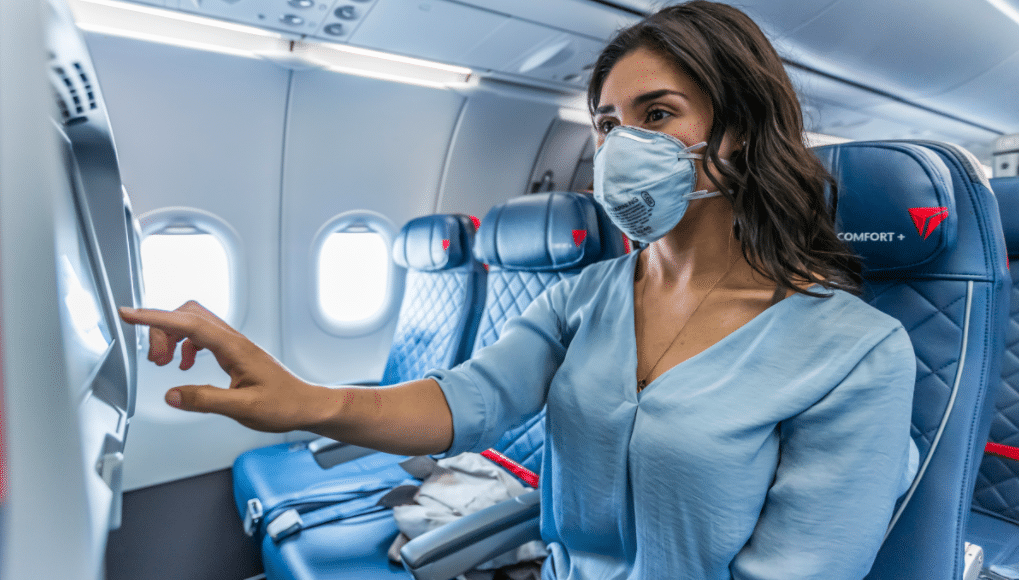 Delta Extends Their Middle Seat Ban Through April 2021