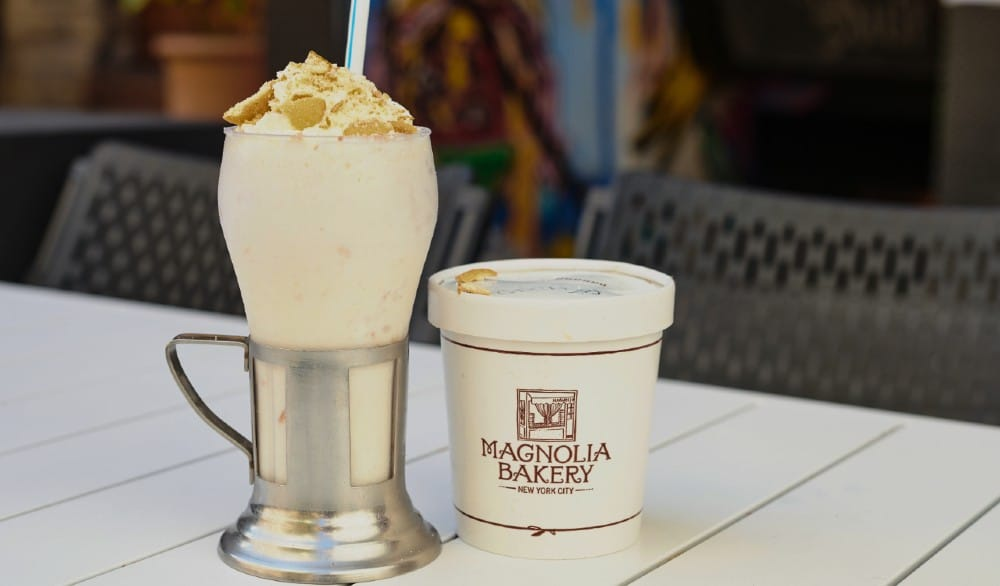 A Magnolia Bakery Banana Pudding Milkshake Is Coming To NYC For Two Days Only