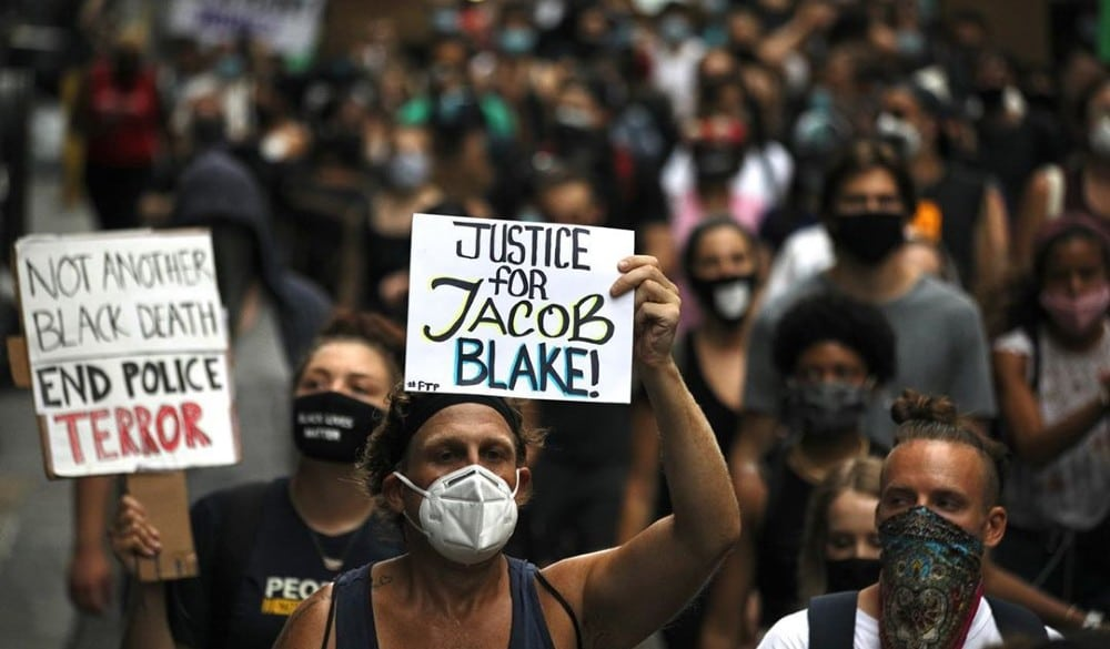 Over 700 New Yorkers Joined Together This Week To Demand Justice For Jacob Blake