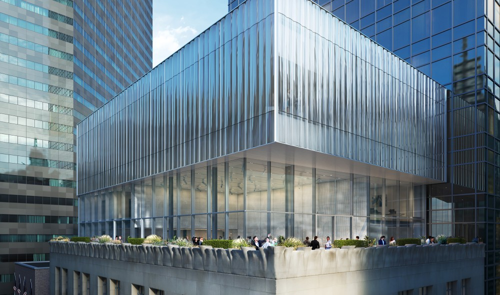 Iconic Tiffany & Co. Flagship Is Getting A Dazzling All-Glass Rooftop
