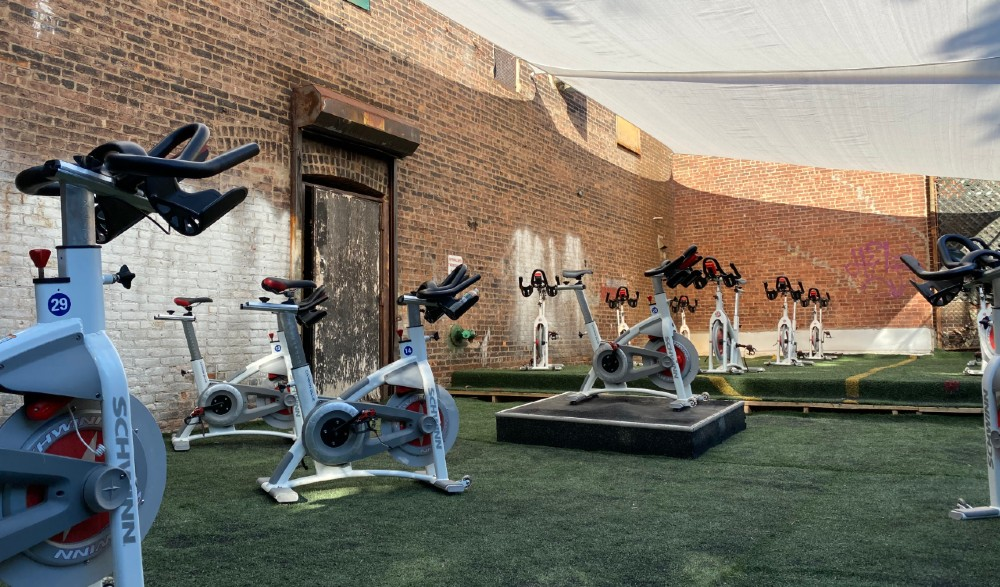 NYC's First-Ever Outdoor Cycling Studio Is Now Open For Rides • BYKlyn Cycle
