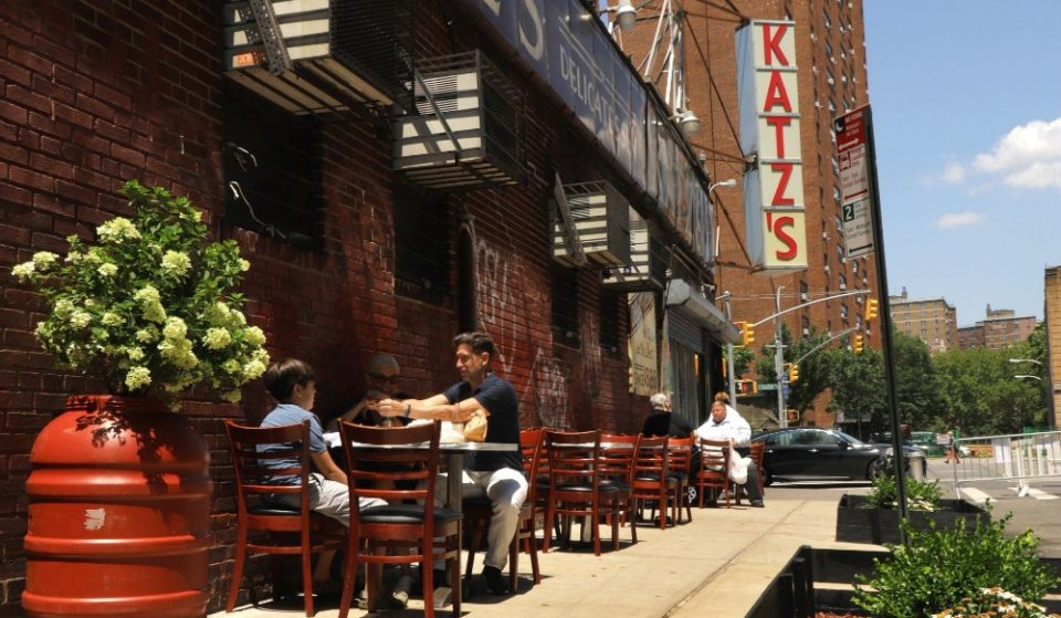 Iconic Katz's Deli Adds Outdoor Dining For The First Time Ever