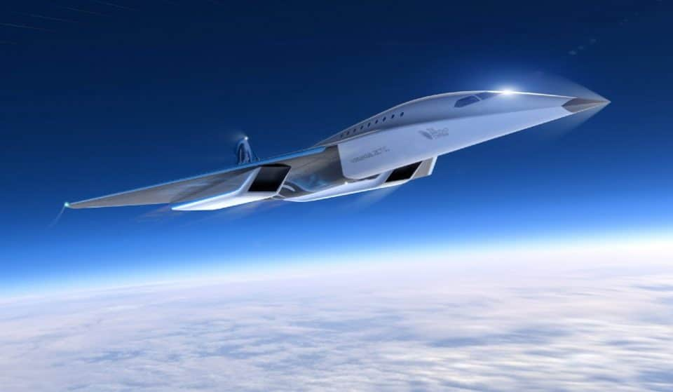 This New Supersonic Passenger Jet Could Fly From NYC To London In Less Than Two Hours