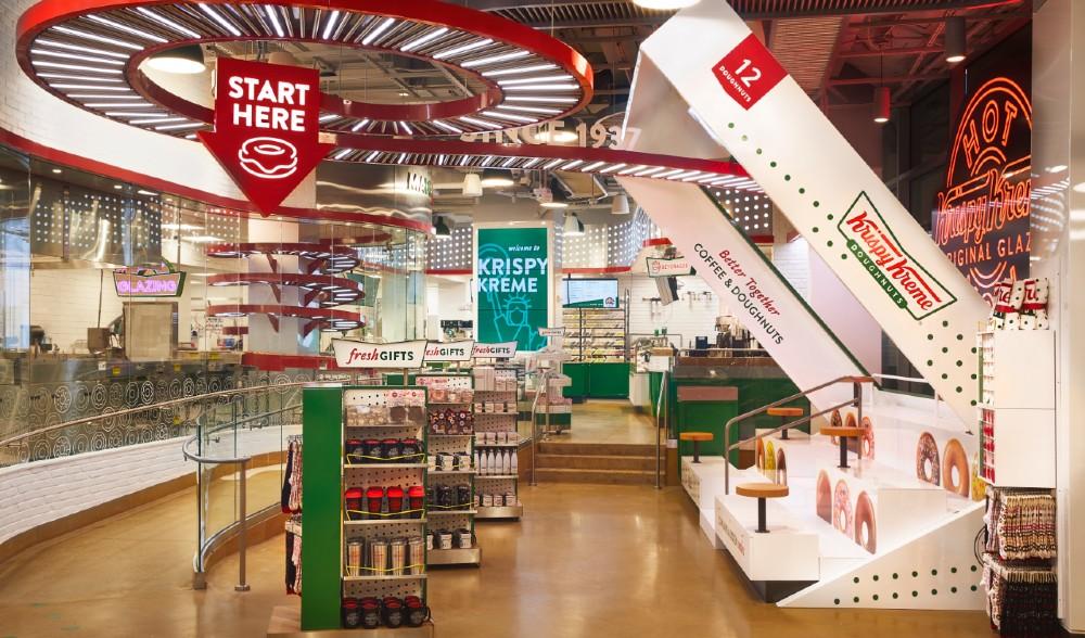 Krispy Kreme's Massive Times Square Flagship Opens Today - Take A Sweet Peek Inside - Secretnyc