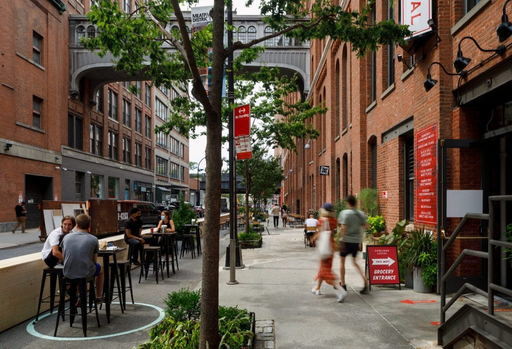 Outdoor Dining Will Now Be A Permanent Part Of NYC, Mayor de Blasio Says