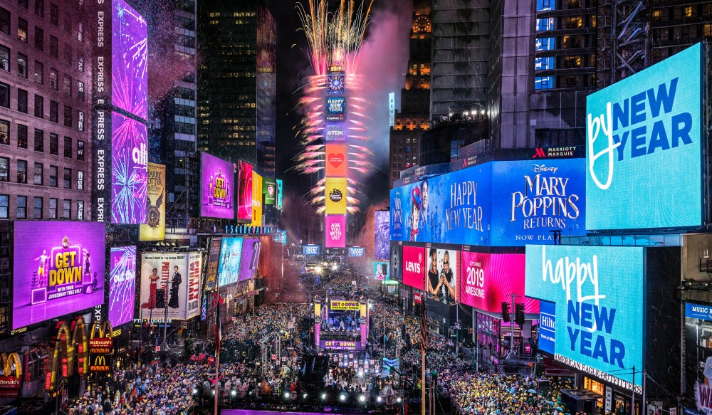 New Year's Eve Ball Drop In Times Square Will Go On Without NYC Crowds This Year