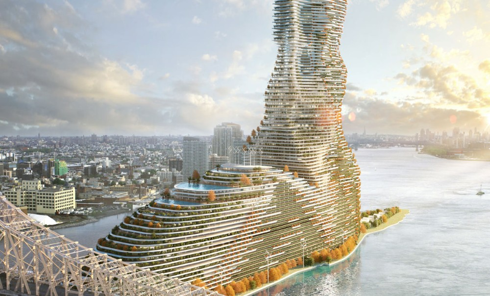 This Enormous Eco-Friendly Skyscraper Could Become The Tallest In NYC (& The Country)