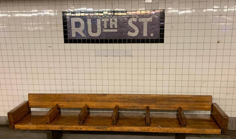 New Yorker Pays Tribute To Ruth Bader Ginsburg By Changing 50th St. Subway Sign