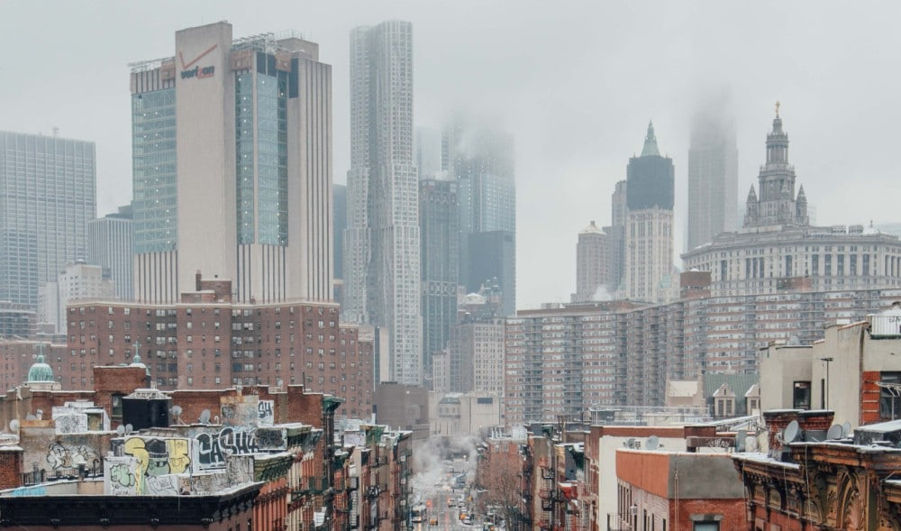 NYC Sees Cloudy, Hazy Skies This Week Due To Smoke From West Coast Wildfires