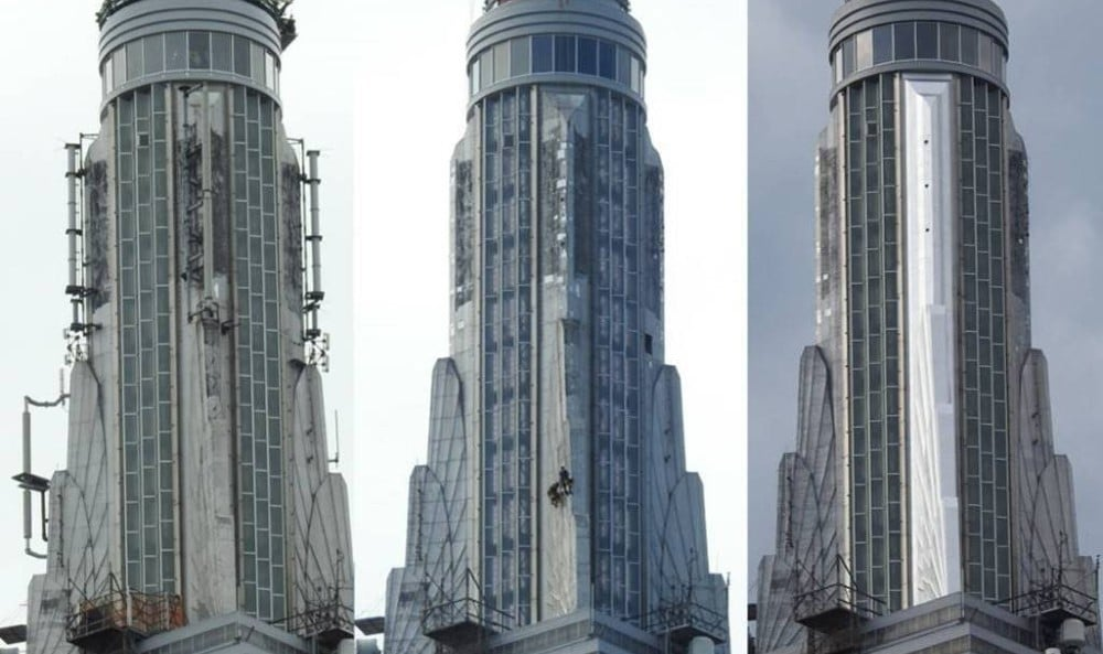 Empire State Building Restores Glistening Art Deco Spire From The 1930s