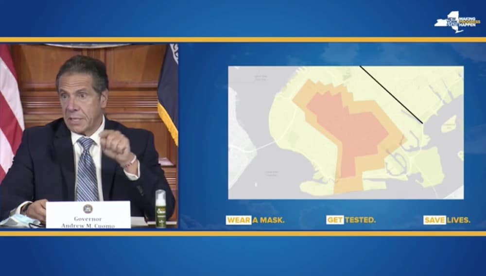 Certain Areas Of Brooklyn & Queens Will Shut Down Again Due To COVID-19 Clusters, Cuomo Announces