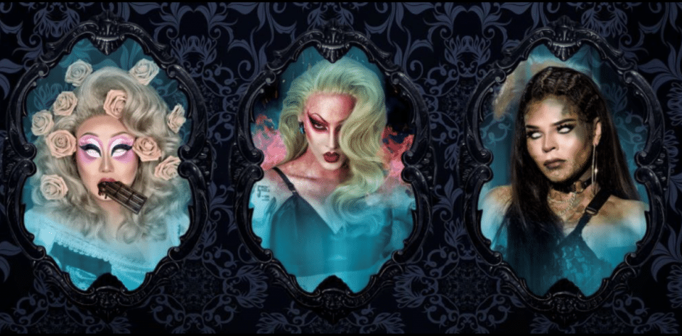 A Haunted Halloween Drive N' Drag Is Coming To Town This Weekend, Ft. RuPaul's Drag Race Stars